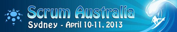 I'm speaking at Scrum Australia 2013