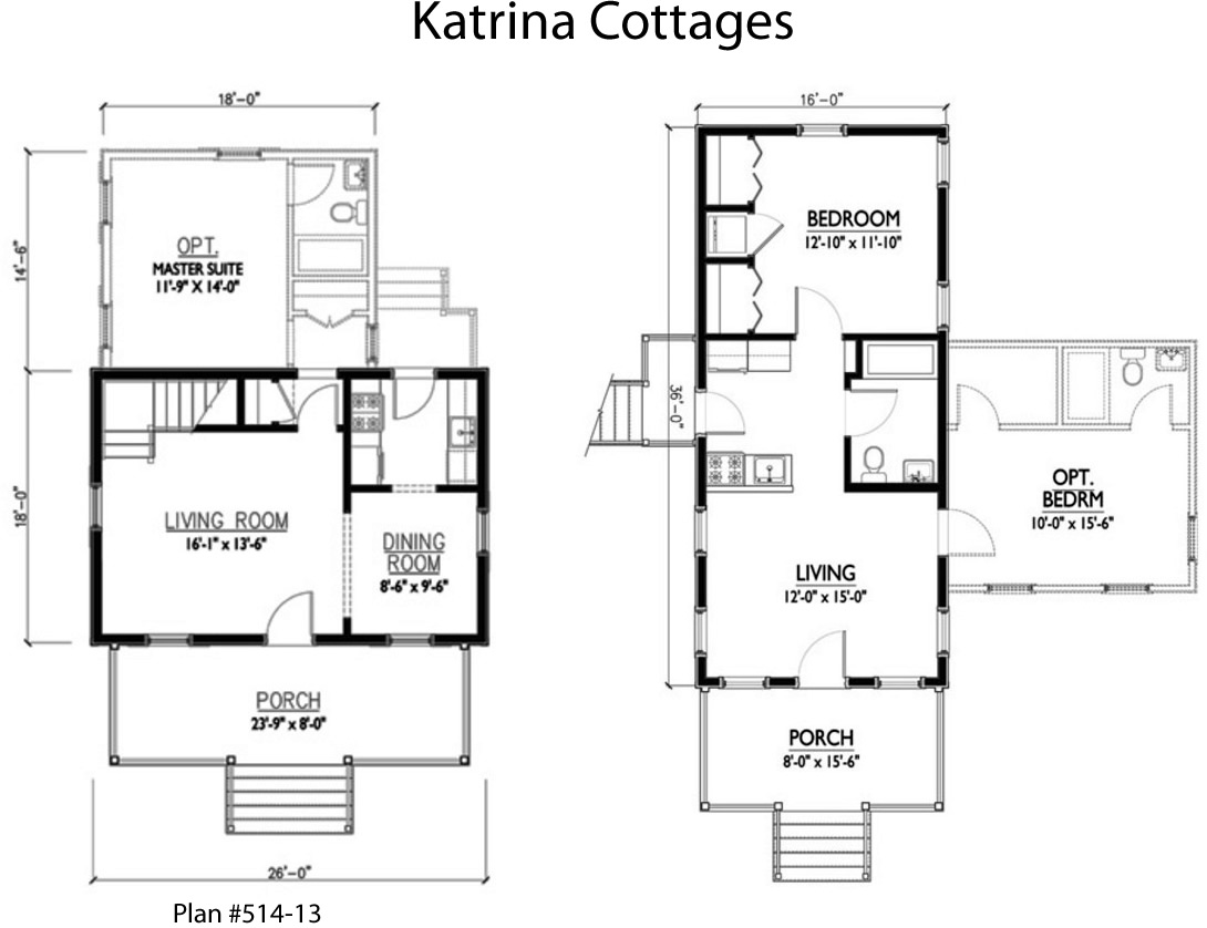 Katrina Cottages Plans   Katrina Cottage Comeback?   Project Small House
