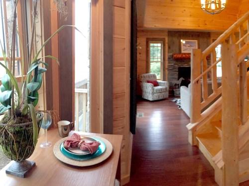 Project Small House: Blue Ridge Cabin River Rock II Kitchen Model