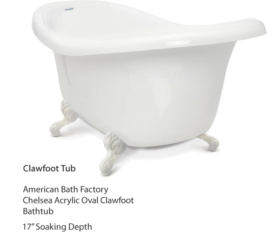 project finding the deepest tub for the money u2013 clawfoot clawfoot tubs are a kind