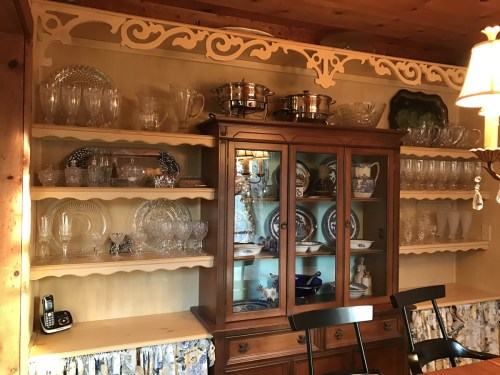 Built-in China Cabinet and Dining Room Storage
