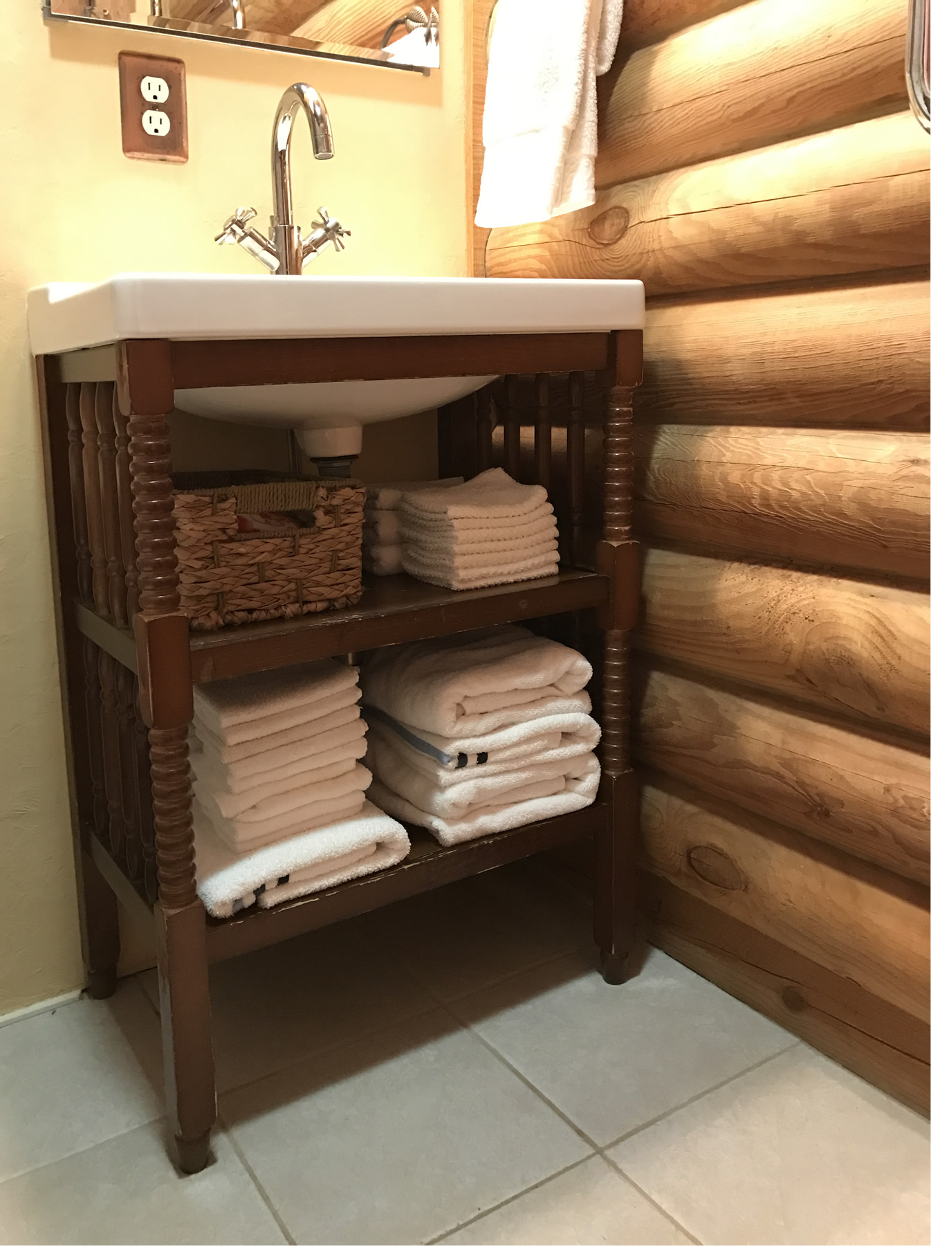 Project: Converting A Jenny Lind Baby Changing Table Into A Cottage Style Bath  Vanity