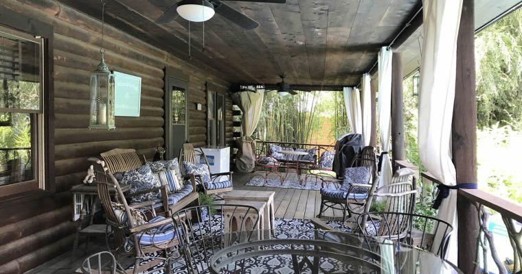 Meadowbrook Cabin Porch