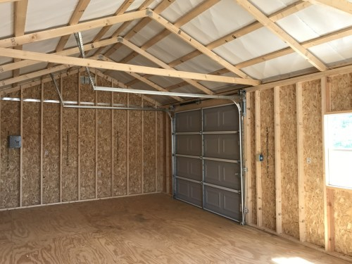 You don't have to add a garage door, so it will be more like a tiny house.