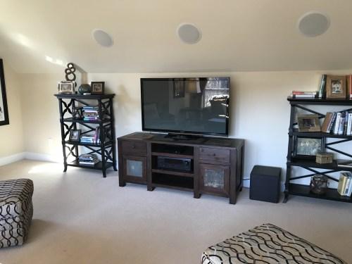 Bonus Room over a Garage in the Schumacher Homes Model