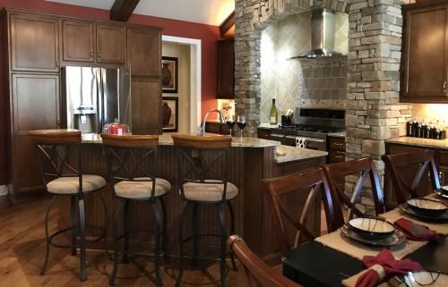 """Schumacher Homes Kitchen 40 ½"""" Height Bar"""