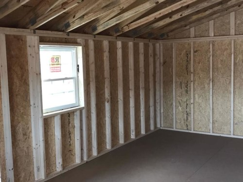 The interior is unfinished. Add walls any way you want. 12' x 24' Modular Log Cabin for under $10,000 - Project Small House
