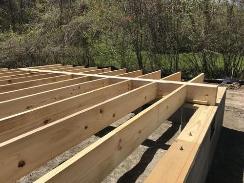 Floor joists - Building our Schumacher Home