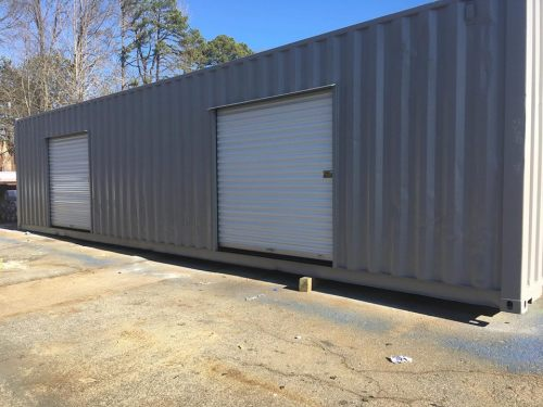 Shipping Container with Rollup doors - Project Small House