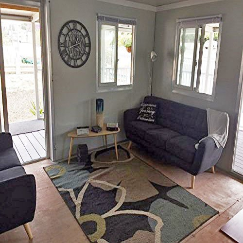 Living room in the Expandable Container House – Project Small House