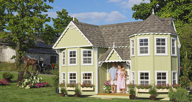 little cottage co sara s victorian mansion kit project small house rh projectsmallhouse com little cottage cornwall little cottage company outdoor playhouse