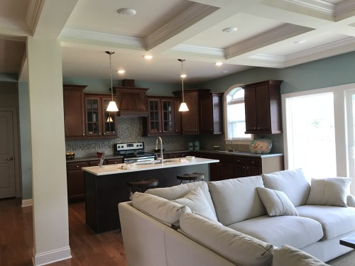 Open Floor Plan - Modular Homes: The Maiden II at Premier Homes of the Carolinas – Project Small House