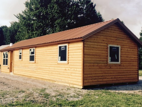 White Tail Log Cabin - Deer Run Cabins in Campbellsville, Kentucky – Project Small House
