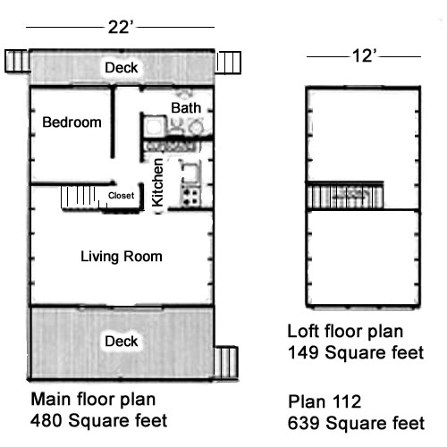 House Plans - Classic Design for a Low-Budget A-Frame – Project Small House