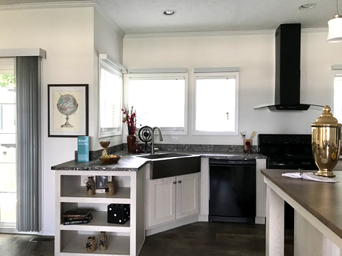 Kitchen - Model Modular at Clayton Homes – Project Small House