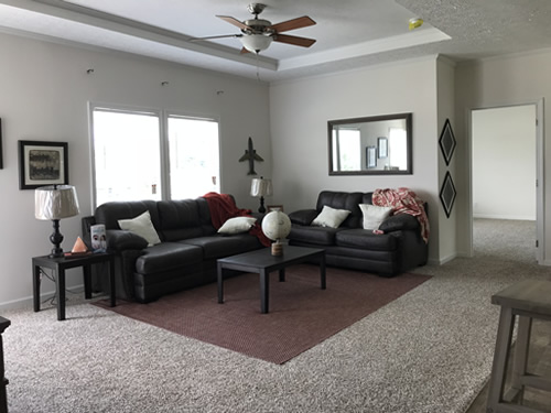 Living Room - Model Modular at Clayton Homes – Project Small House