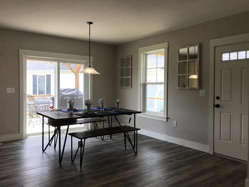 Dining Room - New Modular at Premier Homes of the Carolinas – Project Small House
