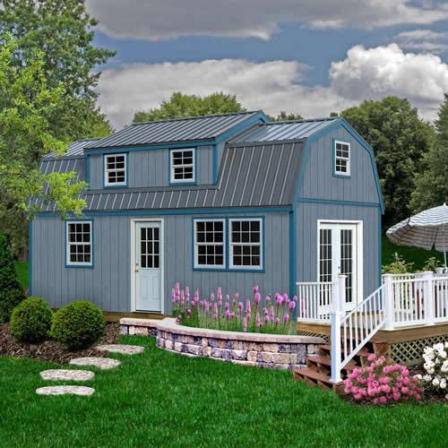 Lakewood 12' x 24' Shed Kit with Large Dormer - Lakewood Shed Kit with Large Dormer – Project Small House