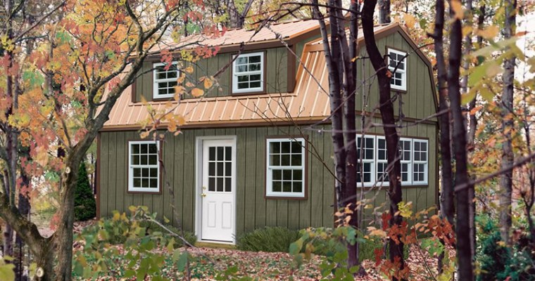 Lakewood Shed Kit with Large Dormer