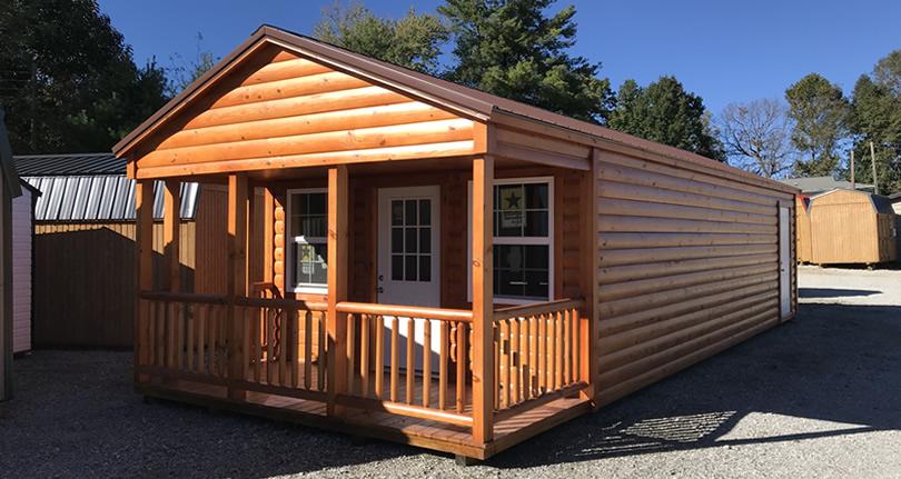 Clearance 14 x 38 Log Cabin