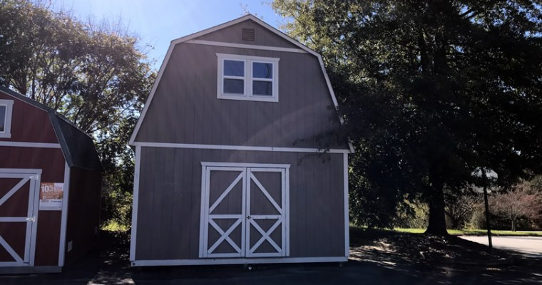 Summer Wind: Two Floor Storage Barn to Tiny House?