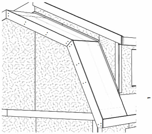 The large dormer adds to the headroom upstairs - Lakewood Shed Kit with Large Dormer – Project Small House