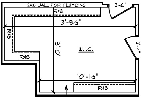 Master Closet Plan - Closets – Building our Schumacher Home – Project Small House