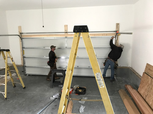 Adjusting the Garage Door – Building our Schumacher Home – Project Small House