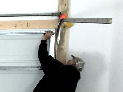 Adjusting the garage door - Garage Door – Building our Schumacher Home – Project Small House