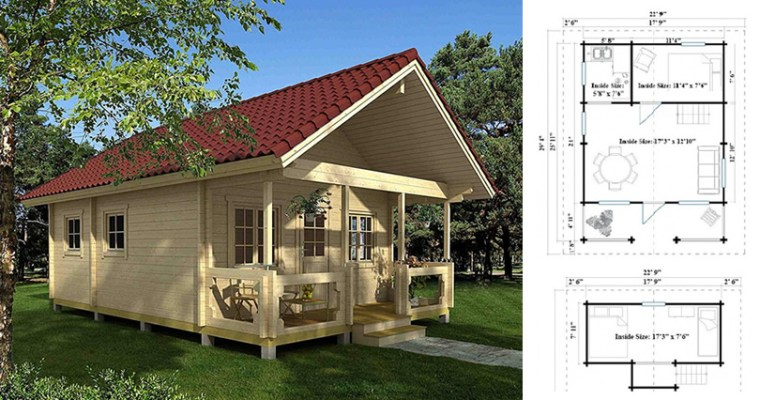Timberline 483 Square Foot Cabin Kit