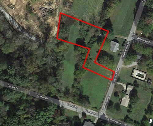 Take US25 to Stoney Mtn. Drive to Dartmouth Rd. - Land For Sale: .44 acre In Druid Hills, Hendersonville, NC – Project Small House