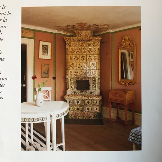 The home of Karin and Carl Larsson Living in the Countryside by Barbara & René Stoeltie - Swedish Kachelofen – Project Small House
