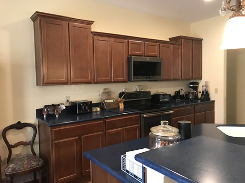 Still getting settled. We don't know where anything is going to end up yet. - Our New Kitchen - Getting Settled – Project Small House