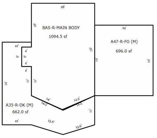A-Frame Floor Plan