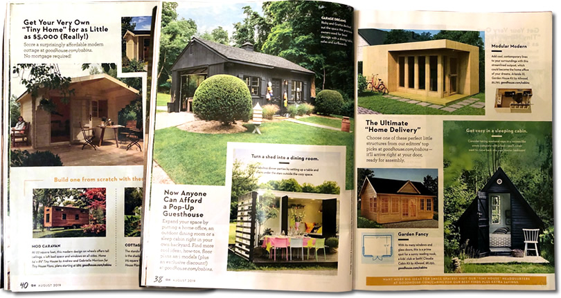 Good Housekeeping Tiny House Special August 2019