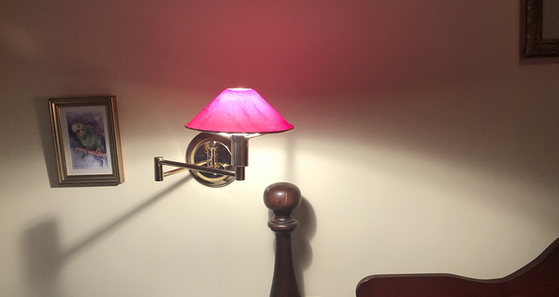 Swing Arm Lamps – DIY In the Wall Pin-up Kits