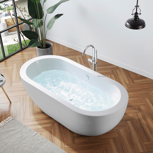"OVE Decors 674552 71"" Serenity Freestanding Tub"
