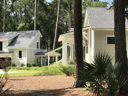 Farmhouse style house on Hilton Head Island