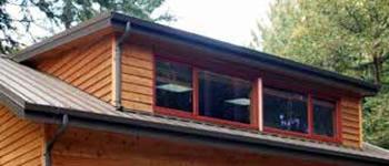 Flat Roof (Shed Roof) Dormer