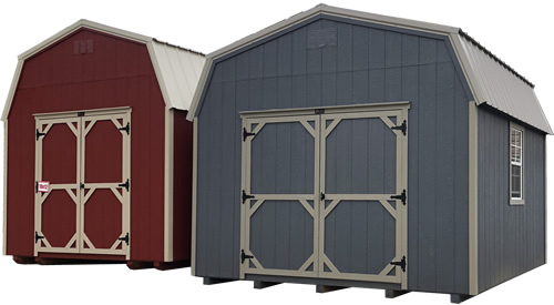 Inside Carolina Storage Solutions LP Smart Lofted Barns