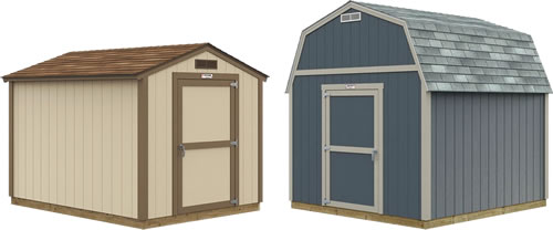 Garden Ranch and Garden Barn Tuff Shed Storage