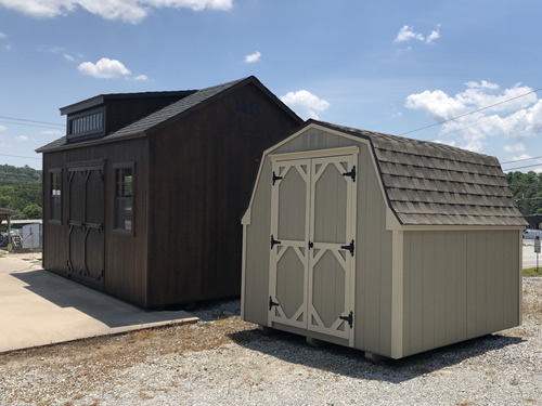 Garden Barn and 10' x 16' LP Smart Cottage from Carolina Storage Solutions