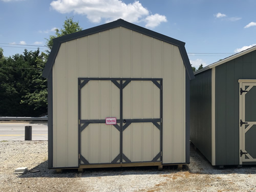 10x16 Metal Lofted Barn