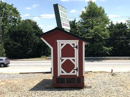Chicken Coop from Carolina Storage Solutions