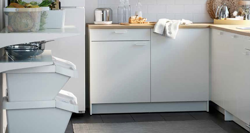 Comparing Ikea Knoxhult Cabinets For The Laundry Room Project Small House