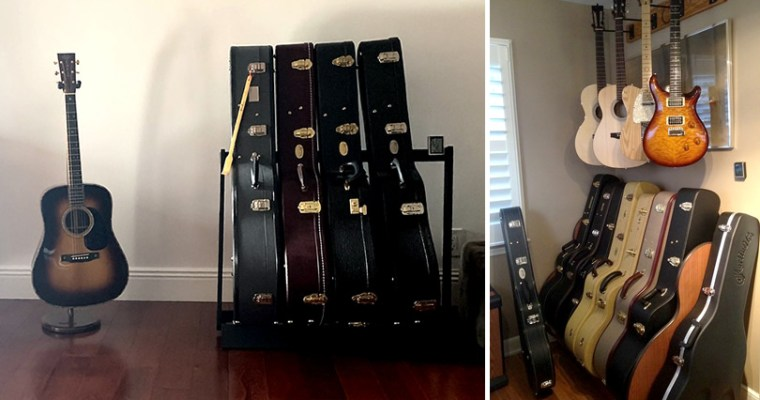 Safely Displaying, Storing and Organizing Guitars