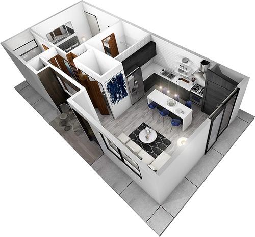 starENERGY 18x36 Small House Kit