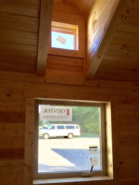 Double Hung Ply Gem ENERGY STAR ® insulated windows Working Dormers let light into the loft and bedroom