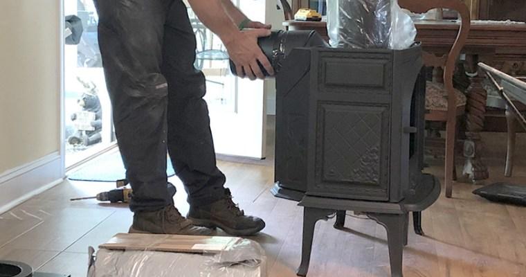 Installing the Jotul Sebago Free Standing Gas Fireplace