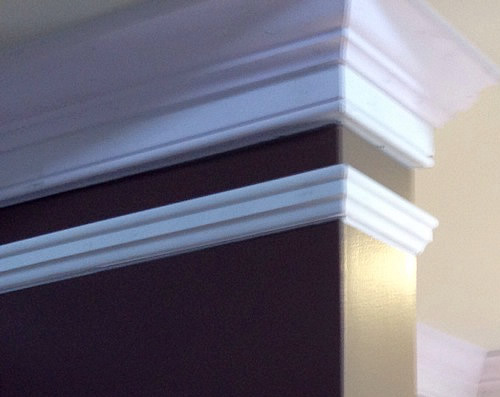 Three piece crown molding with picture moulding Brian Moloney , Finish Carpenter in Richmond, originally from Ennis,Co.Clare,Ireland. The Finishing Company, Richmond,Virginia, United States http://www.thefinishingcompany.net/